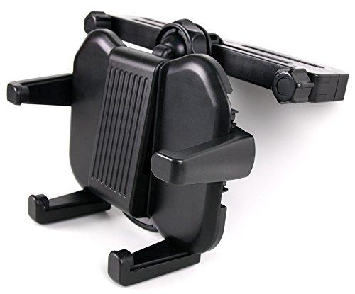 (DURAGADGET Stabile Kfz Kopfstützenhalterung für Unterwegs für den AEG DVD 4551 LCD tragbarer DVD Player)
