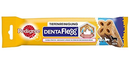 Pedigree DentaFlex Hundesnack für große Hunde (25kg+), Zahnpflege-Snack mit Huhn, 9 Packungen (9 x 120 g) - 5