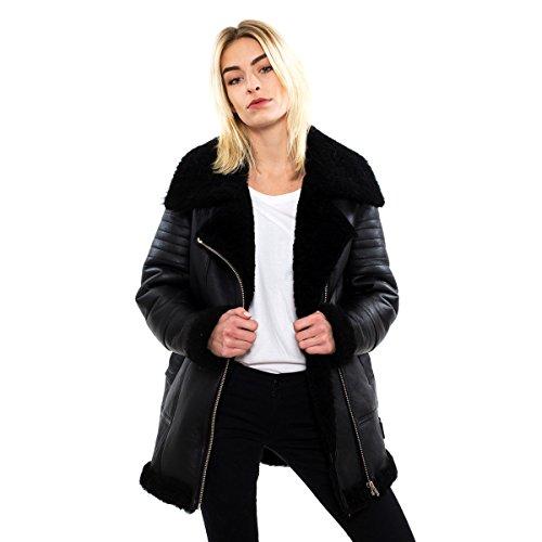 Tassa Damen Mantel Gr. XXL, schwarz