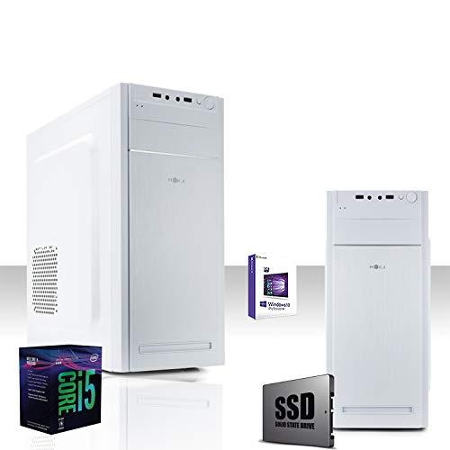 GAMMA PC SSD DESKTOP COMPLETO INTEL I5-8600 4.3 GHZ 6-CORE 8°GEN/LICENZA WINDOWS 10 PRO 64 BIT/GRAFICA INTEL HD 630 1GB 4K/WIFI 300MBPS/SSD 240GB/RAM 8GB DDR4 2400 MHZ/DMI, DVI,VGA, USB2.0, UBSB3.0