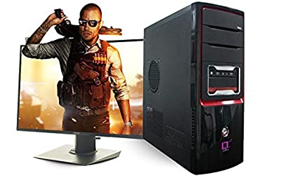 "Gaming Desktop Pc- Intel i5-4th Gen,8Gb Ram,1Tb Hdd, 2Gb Grapic,20"" Led"