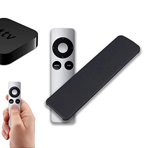Funda de silicona para mando a distancia Apple TV 3 Gen (Siri remote) color NEGRO