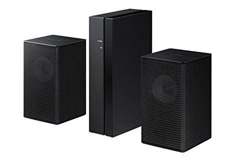 Samsung SWA-9000S/EN Wireless Rear Lautsprecher Kit schwarz (Samsung Wireless Sound Bar Für Tv)