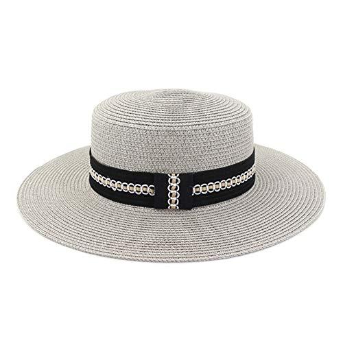 HGYIO Sombrero de Playa para niñas, Sombrero de Sol de...