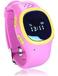 SNHWARE GPS Tracker Enfants Regardent Les élèves Regardent L'emplacement Intelligente Du Dispositif SOS D'alerte D'appel