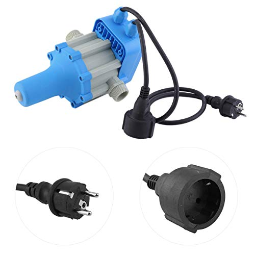 Professionelle automatische elektronischer Schalter 220V-240V Wasserpumpe Druckregler Durable Auto Control Unit (Farbe: blau) -