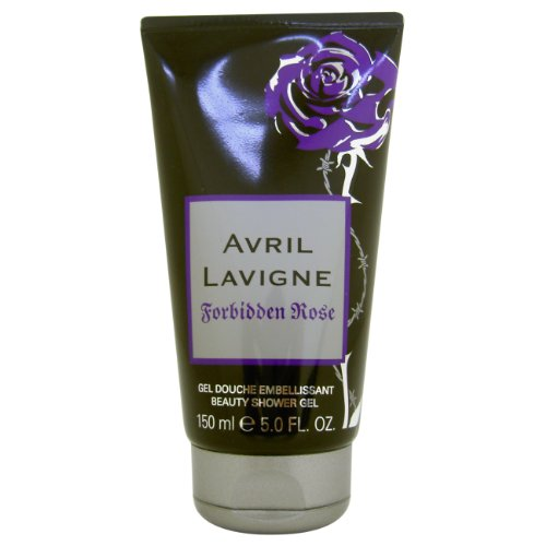 Le donne Avril Lavigne Forbidden Rose Gel doccia 150 ml, 1 pacchetto (1 x 150 ml)