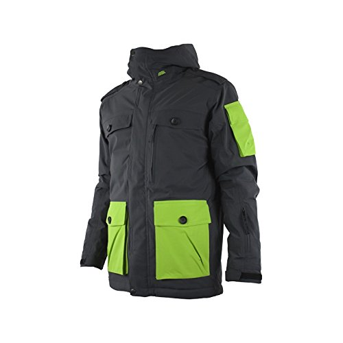 Watts Veste Ski Junior Simeo Anthracite/vert n°285b