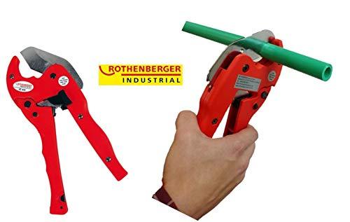 ROTHENBERGER Industrial Kunststoff  Rohr abschneider Premium , Rohr schere , rohrschneider , plastik – 42 mm , 36012