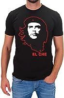 DSguided Herren T-Shirt EL CHE Kurzarm Shirt Che Guevara Comandante Cuba Libre Revolucion