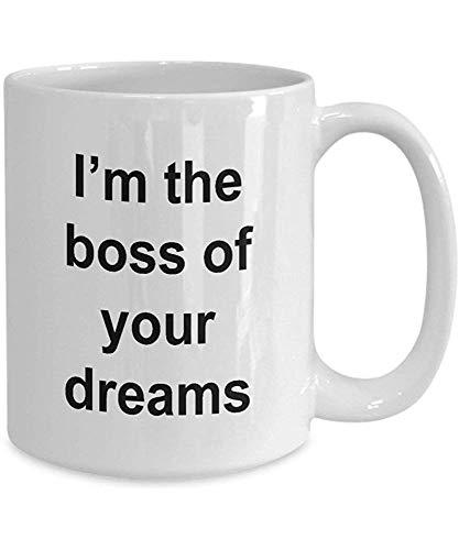Taza divertida el mejor regalo de la oficina del jefe para el regalo del jefe del regalo de la mordaza de la novedad del empleado de su empleado favorito