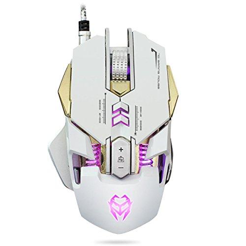 Mechanische Verdrahtetes Leucht Gaming-Maus Computer USB-Maus LOL Geschenk
