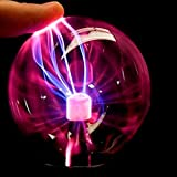 LEDMOMO Plasmakugel Lichter Plasma Ball lampe mit USB Kugel Blitze Touch Sensitive Lampe für Party Kinderzimmer Fest Dekorationen