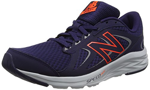 New Balance 490v4, Zapatillas de Running para Hombre, Azul (Dark Denim), 43 EU