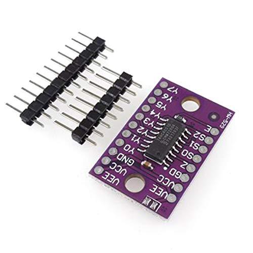 Fantasyworld HW-529 HC4051 74HC4051 8-Kanal-Mux 8-Kanal-Analog-Multiplexer-Modul kompatibel SCM & DIY Kits Modul-Brett Balun Transceiver Kit