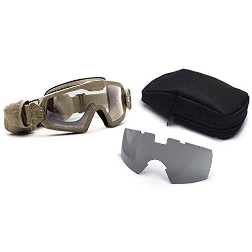 Smith Optics Goggle OTW TURBO TAN Clear Grey