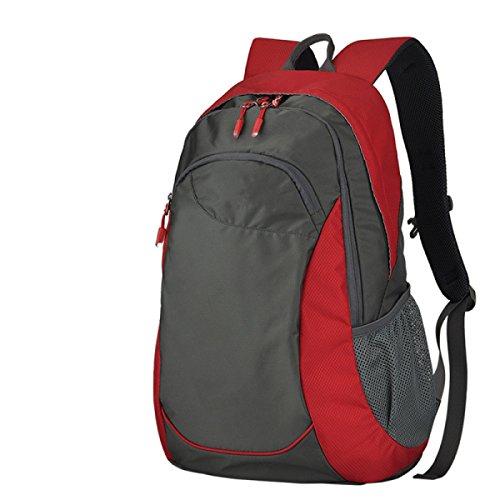 BULAGE Tasche Schultern Männer Und Frauen Bergsteigen Outdoor Wasserdicht Computer Schultasche Mode Einfach Großzügig Red