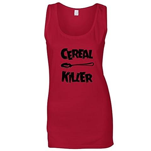 Cereal Killer Löffel Lustige Frühstück Speisen, Humor, Slogan Chef Sommerweste