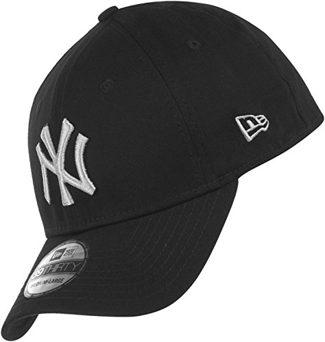 New Era 3930 MLB Black Base NY Yankees Cap M/L black/grey (Flex Fit Kappe Era New)