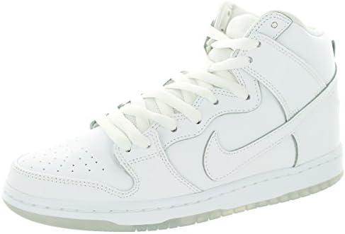 Zapatillas Nike Dunk High Pro SB Blanco / Blanco / Lt Base Gris, Hombre 10 Estados Unidos