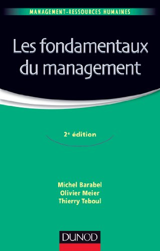 Les fondamentaux du management - 2e édition