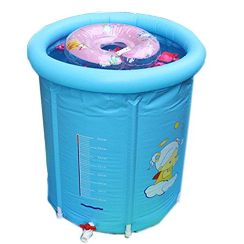 Bebé Piscina hogar recién Nacido bebé Aislamiento Transparente Soporte Inflable natación Cubo...