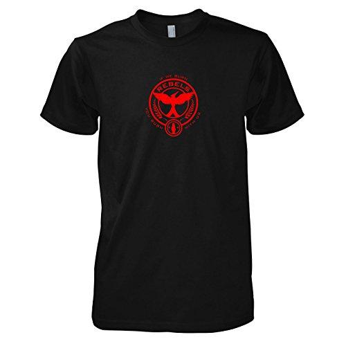 TEXLAB - If we burn - Herren T-Shirt Schwarz