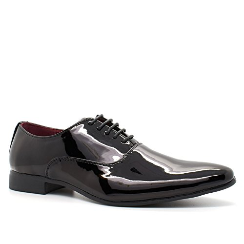 New-Mens-Italian-Style-Lace-Up-Wedding-Shoes-Smart-Formal-Party-Dress-Office-UK