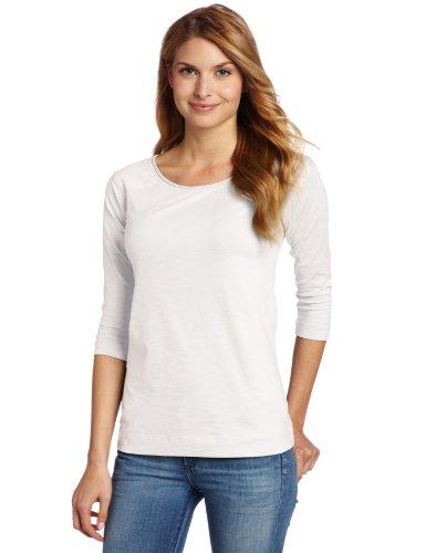 Horny Toad Damen Rollick 3/4Sleeve Shirt, damen, weiß