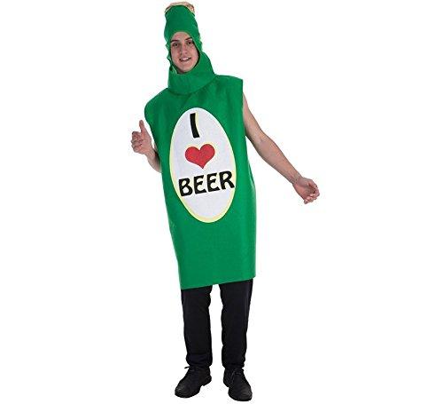 Ich Liebe Bier Adult Kostüm (Ich Liebe Bier Kostüm)