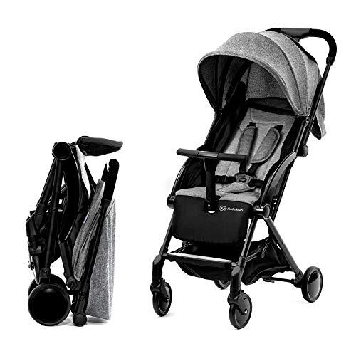 Kinderkraft PILOT silla de paseo plegable gris