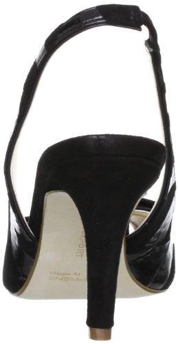 Rockport - Lendra S Print Sling, Scarpe col tacco Donna Nero (Noir (Black))