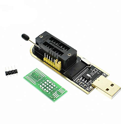 Smart Electronics CH340 CH340G CH341 CH341A 24 25 Series EEPROM Flash BIOS-USB-Programmierer mit Software-Treiber, 1 Stück -