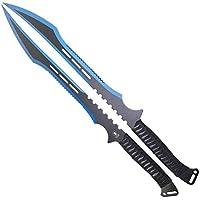 InnoMar Fantasy Schwert Set - Zweiteilig mit Blauer Klinge und Scheide