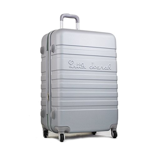 Grande valise 70 cm Gris Clair Little Marcel