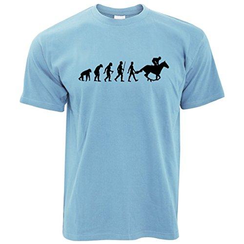 Sport T-Shirt Evolution of Reiten REIT Sky Blue Small