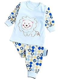 Conjunto de pijamas de bebé Conjunto de pijamas de niña Conjunto de ropa de dormir infantil recién nacido