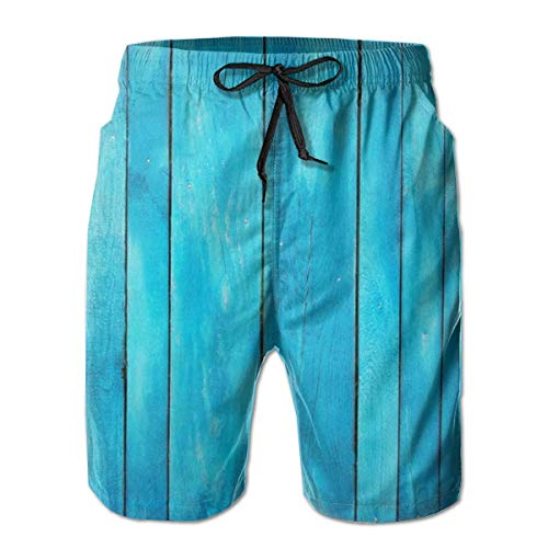 Vikimen Short de Bain Homme Maillot de Bain Comfort Men & Boys Big &Tall Swim Trunks Half Pants for Beach Athletic Workout