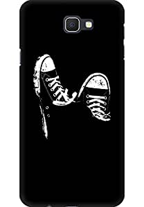 AMEZ designer printed 3d premium high quality back case cover printed hard case cover for Samsung Galaxy J7 Prime (Canvas Shoes)