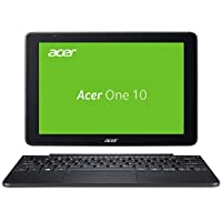 "Acer Aspire Switch One 10 S1003-1298 1.44GHz x5-Z8300 10.1"" 1280 x 800Pixeles Pantalla táctil Negro, Gris - Ordenador portátil (x5-Z8300, Touchpad, Windows 10 Home, Ión de litio, 32-bit, Intel® Atom™) - Teclado QWERTZ"
