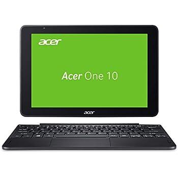 Acer One 10 S1003-1298 25,65 cm (10,1 Zoll HD, IPS, Multi-Touch) Convertible Notebook (Intel Atom x5-Z8350, 2GB RAM, 32GB eMMC, Win 10) schwarz (QWERTZ Deutsch Layout)