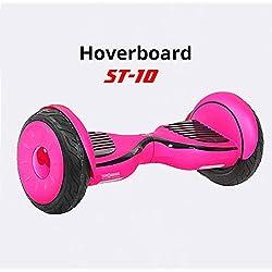 BC Babycoches Patinete electrico TecnoBoards ST10, BATERIA Litio, 10 Pulgadas, Hoverboard monopatin autoequilibrio Color Rosa