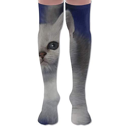 mchmcgm British Shorthair Cat Classic Youth Knee High Socken