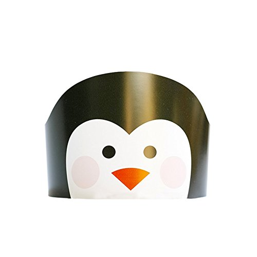Geburtstag hat Cute Cartoon Tiere Papier Kappen Kinder Kopf Dekorationen Kinder Geschenk Spielzeug Geburtstag Party Hüte pinguin (Pinguin Hut)