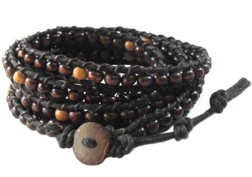 lun-na-asian-vintage-art-handmade-100-thai-buddha-tibet-fashion-style-nature-dark-brown-wood-bead-wr