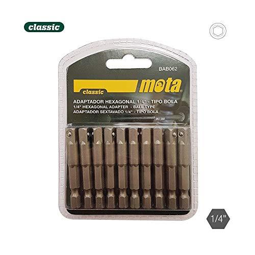 Pack 10 adaptateurs hexagonale t. boule 50 mm 1 – 4 10P. bab062