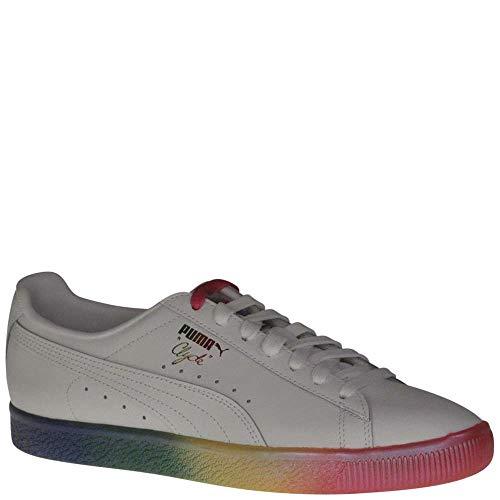 PUMA Men s Clyde Prd White Athletic Shoe