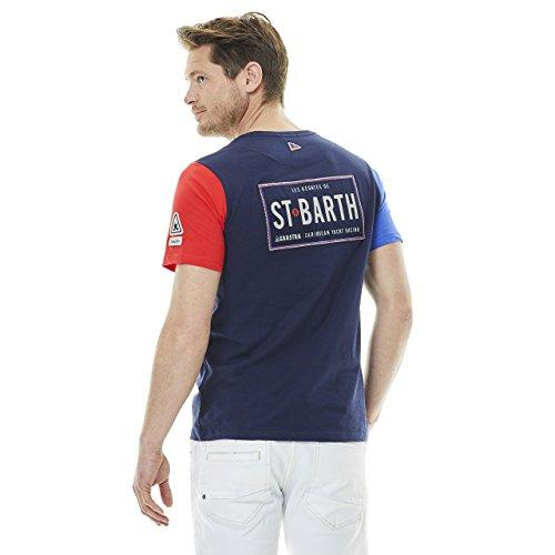 GAASTRA Herren T-Shirt Bart Crew Dunkelblau