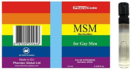 BESTE PHEROMONE PheroCode MSM 2,4ml 100% Stark für schwule Männer Gay Lockstoff