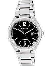 Citizen Eco-Drive Analog Black Dial Men's Watch - AW1370-51E
